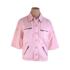 Francesco Biasia Coats Jackets Pink Woman Authentic Used E1214