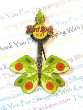 Hard Rock Cafe Toronto Tattoo Butterfly Guitar Pin 2004 HRC LE NEW Pin # 22523