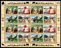 UNO Genf ZD-Bogen MiNr. 330-33 postfrisch MNH gefährdete Tierarten (H402