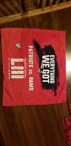 New England Patriots Super Bowl LIII 53 Stadium Giveaway Rally Towel