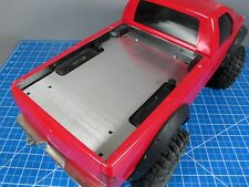 "Aluminum Bed Trunk Cover Plate Tamiya ""RC Toy ""1/10 Ford F350 F-350 Juggernaut"