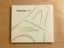 CD / FRANCK TORTILLER & ORCHESTRE PASDELOUP / RAPHSODY IN PARIS/ NEUF SOUS CELLO