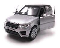 Range Rover Modellino Auto con Richiesta Caratteristiche Sport SUV Argento Scala