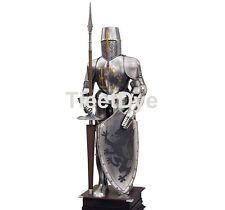 Armure chevalier medievale hallebardier