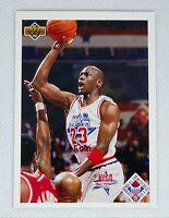 1991-92 Upper Deck Michael Jordan #48 All Star Checklist Chicago Bulls HOF