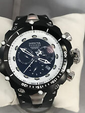 "Men's Invicta 11708 Venom Black Poly Black Chronograph Dial 7.25-9.25"" Watch"