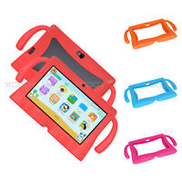 XGODY 1+16GB 7 INCH IPS Android 8.1 1.3GHz Dual Mode Kids Tablet PC Bundle Case