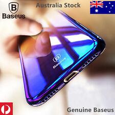 Baseus Glossy Aurora Mirror Gradient Color  case  for IPhoneX XS 8 7 6s plus