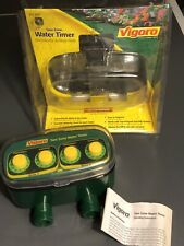 Vigoro Two Zone Automatic Yard Water Timer 271-687 Unused Opened Package