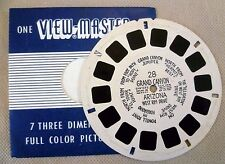 Vintage Viewmaster - Sawyers Single Reel 28 Grand Canyon Arizona West Rim Drive