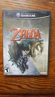 Legend of Zelda: Twilight Princess (GameCube, 2006) CiB Black Label READ DESC!