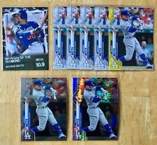 2020 Topps Series 2 Chrome Mookie Betts Card Lot Yellow Parallel + Numbered +...