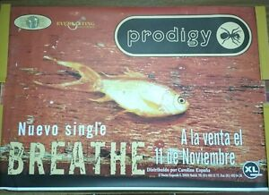 Prodigy Breathe Promo POSTER 70cm X 100cm Muy Raro