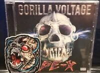 Gorilla Voltage - APE-X CD w/ Sticker twiztid d12 madchild swollen members blaze