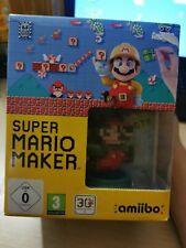 Super Mario Maker Limited Edition Amiibo Bundle (Nintendo Wii U, 2015)