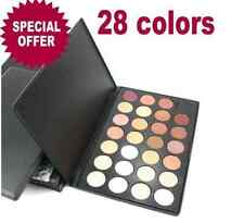 Pro Warm 28 Color Neutral Makeup Eye Shadow Cosmetic Eyeshadow Palette Set Kit