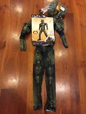 Halo MASTER CHIEF Child Costume, Size Small (4-6) Halloween costume.  NEW