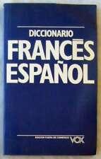 DICCIONARIO FRANCÉS-ESPAÑOL - VOX - ED. BIBLIOGRAF 1995 - VER DESCRIPCIÓN