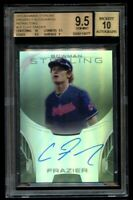 2013 Bowman Sterling Clint Frazier Rookie /150 Refractor BGS 9.5 Auto 10 RC