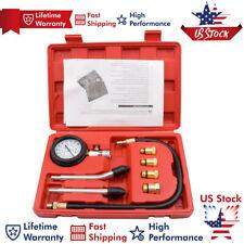 Cylinder Compression Tester Gauge Test Gas Engine Tool Kit Professional 300psi