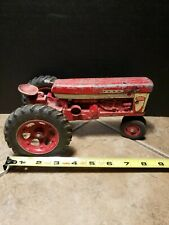 Vintage All Metal Die Cast Farmall 560 Tractor toy... made in USA!