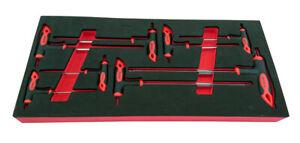 8 PIECE T-BAR ALLEN (HEX) KEY SET 2-10MM FROM BRITOOL HALLMARK HPKSET8