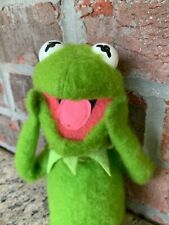 Vintage Kermit the Frog Plush 1976 Fisher Price #857 Muppets Doll