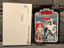 Star Wars Vintage Collection BOBA FETT PROTOTYPE ARMOR Unpunched & Pristine NEW