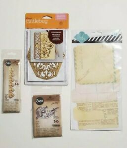 Lot Tim Holtz Alterations Impresslits, Anna Griffin cut & emboss die; more