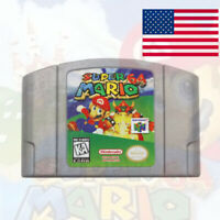 Super Mario 64 Video Game Cartridge Console Card Version For Nintendo 64 N64 US
