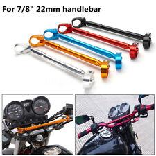 7/8″ 22mm Aluminum Handlebar Brace & Clamp Bar Universal Motorcycle Dirt Bike
