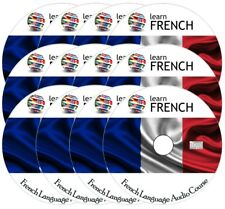 Learn to speak FRENCH - Complete Language Training Course on 12 AUDIO CDs