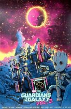 Guardians of the Galaxy Vol. 2 by Shan Jiang Screen Print Poster Art MINT Mondo