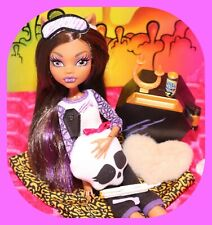 ❤️Monster High Clawdeen Wolf Room to Howl Dead Tired Doll with Outfit Shoes❤️
