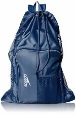 Speedo Swim Deluxe Ventilator Mesh Equipment Pool Gear Bag - Insignia Blue Navy