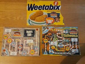 RARE Dr Doctor Who Weetabix board game 1977 original packaging