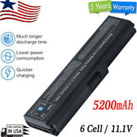 For Toshiba Satellite 5.2Ah Laptop Battery L750 PA3817U-1BRS L745 L755 L755D New