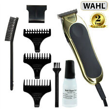 Wahl Mens T-Pro Blade Mains Powered Diamond Finished Clipper Trimmer - 9307-317