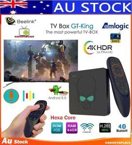 Beelink GT-King Hexa Core S922X 4K Android 9.0 Smart TV Box 4GB DDR4 64GB WiFi 6