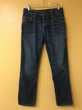 RALEIGH DENIM Jones Selvedge Jeans White Oak Cone USA Made Size 29x28.  02020476