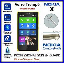 NOKIA X Tempered Glass Vitre de protection d'écran en VERRE TREMPE