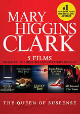 Mary Higgins Clark: Best Selling Mysteries - 5 Films (DVD, 2016, 2-Disc Set) NEW