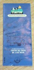 en voiture tintin certificat d'authenticité n°59 la dépanneuse simon l'or noir