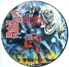 EX/EX! Iron Maiden Number of the Beast Vinyl LP Picture Disc
