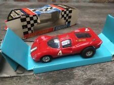 Vintage Scalextric Race-Tuned Red C16 Ferrari P4 Slot Racing Model Boxed No.#4
