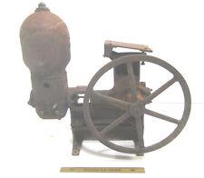 Vtg Cast Iron Demig Marvel 1890 Industrial Farm Water Pump Hit Miss Steampunk