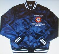 USCGC WILLIAM TRUMP  WPC-1111* COAST GUARD EMBROIDERED 1-SIDED SATIN JACKET