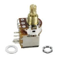 B500K Guitar Push Push Potentiometer Pot Switch Linear Taper Control Short Shaft