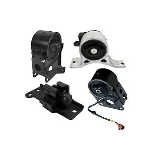 Transmission Motor Mounts Front Right Rear Set Kit 3.5 L For Nissan Murano 2WD