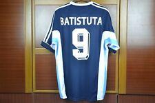 ARGENTINA 1998 WORLD CUP AWAY RETRO SHIRT, BATISTUTA, ORTEGA, Size S M L XL